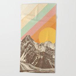 Mountainscape 1 Beach Towel