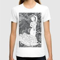 spanish T-shirts featuring spanish dancer by ZINAVARTA