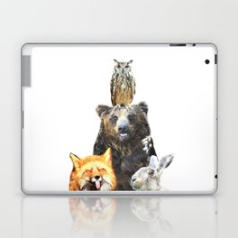 Woodland Animal Friends Laptop & iPad Skin