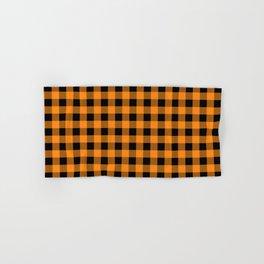 Plaid (orange/black) Hand & Bath Towel
