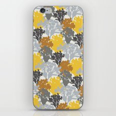 Acer Bouquets - Golds & Silvers iPhone & iPod Skin