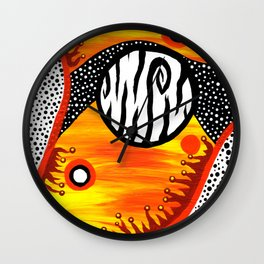 Exoplanet Wall Clock