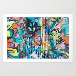 Eye on U Art Print