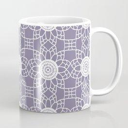 Doily - purple Coffee Mug