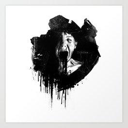 Petro Shout Art Print