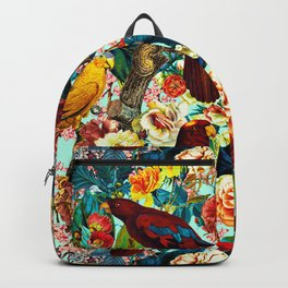 FLORAL AND BIRDS XV Backpack