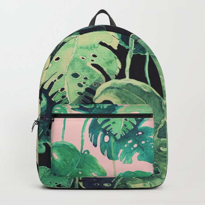 tropical pink Backpack