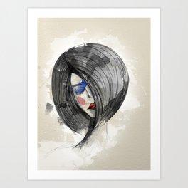 Girlie 02 Art Print