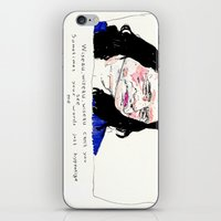 notorious iPhone & iPod Skins featuring Notorious W.I.S.E.A.U by withapencilinhand