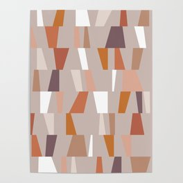 Neutral Geometric 03 Poster
