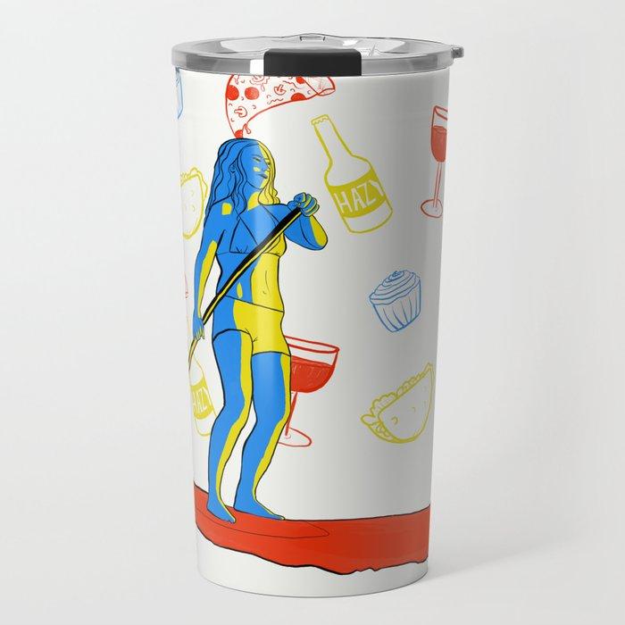 A balanced life Travel Mug