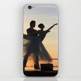 ballet dancers iPhone Skin