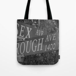 Rough Sex Tote Bag