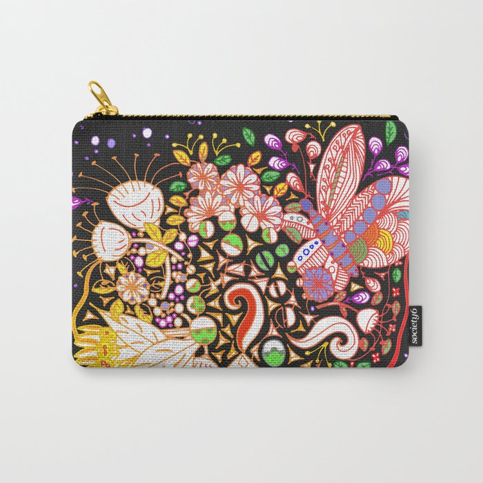 Dragonfly Mist Carry-All Pouch
