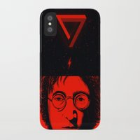 imagine iPhone & iPod Cases featuring Imagine by nicebleed