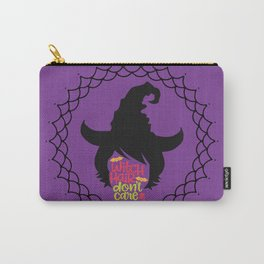 Witch Hair Don't Care-Purple Carry-All Pouch