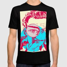 Dali   Mens Fitted Tee 2X-LARGE Black