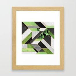 Construct 2 - Secret Garden Framed Art Print