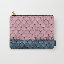 SHELTER / rose and light blue Carry-All Pouch