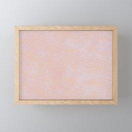 Pink and Orange  Framed Mini Art Print