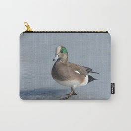 American Wigeon Duck Drake Carry-All Pouch