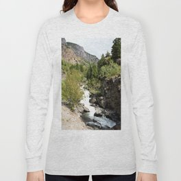 Headwaters of the Mighty Uncompahgre River Long Sleeve T-shirt