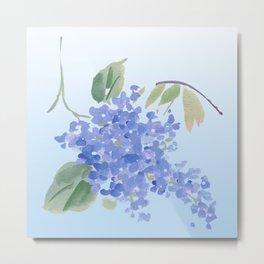 blue lilac Metal Print