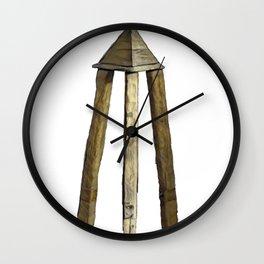 Judas Cradle Heretics Torture Punishment Built Evil Experiment Wall Clock