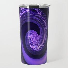 Spiral Vortex Purple G200 Travel Mug