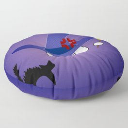Kitty-chan messed up! Floor Pillow