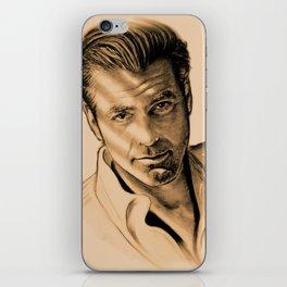 George Clooney iPhone Skin