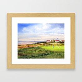 Royal Liverpool Golf Course Hoylake Framed Art Print