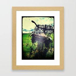 ghost rider Framed Art Print