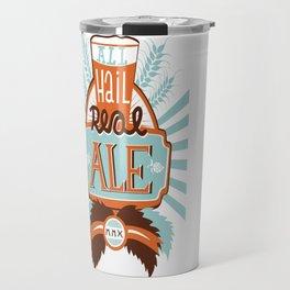 All Hail Real Ale Travel Mug