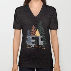 Wild Airstream... Unisex V-Neck