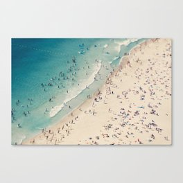 beach love V Canvas Print