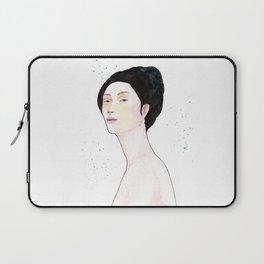 Watercolor - Portrait Laptop Sleeve