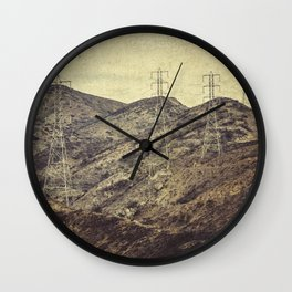 Electric and Company Wall Clock