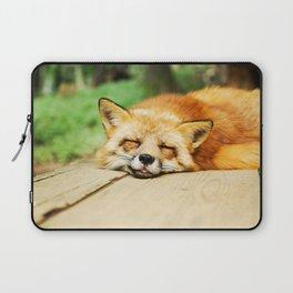 Cutie Foxy Nappy Laptop Sleeve