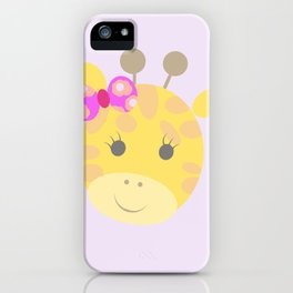 jirafa cata iPhone Case