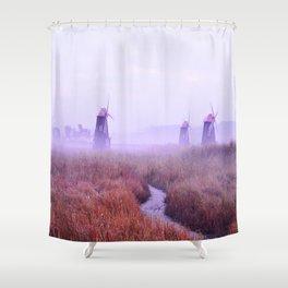 Incheon, South Korea Shower Curtain