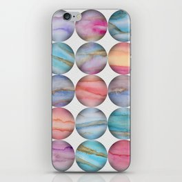 Marble Bubbles iPhone Skin