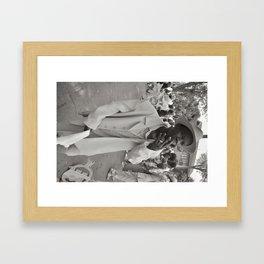 Smoking Stepper - New Orleans, Louisiana Framed Art Print