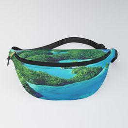 Glimpses of Heaven: Palau 70 Islands In Micronesia Fanny Pack