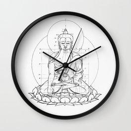 Buddha metrics Wall Clock