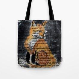 Foxy Gaze Tote Bag