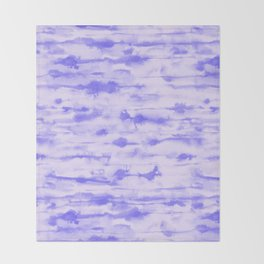 Stratus Ultraviolet Throw Blanket