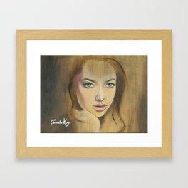 Amanda Seyfried Framed Art Print