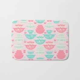Pink and Turquoise Everything Bath Mat