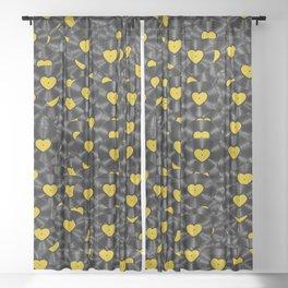 Vinyl Love Sheer Curtain